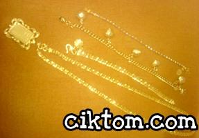 Koleksi Emas Perhiasan Cik Tom
